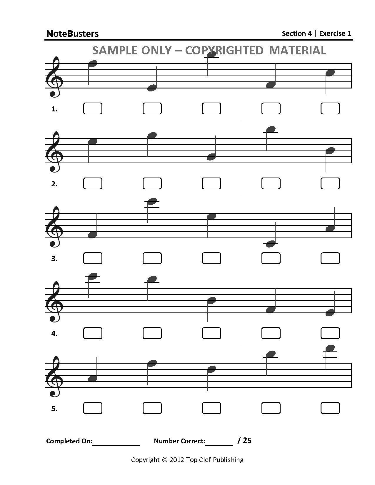 Treble Clef Notes Worksheet Abitlikethis, Note Reading Worksheets