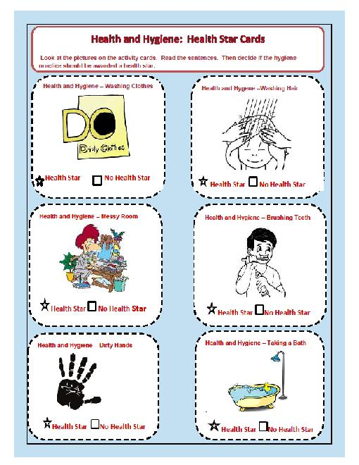 Try 5 Health And Hygiene Bundle Grades K