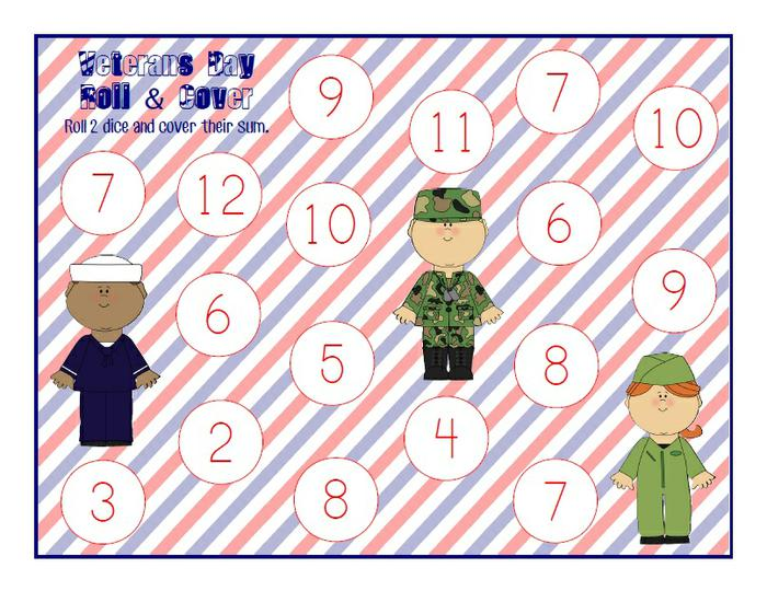 Veterans Day Math Worksheets Middle School 504894