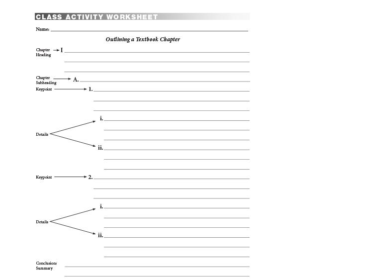 Worksheets Middle School Study Skills Worksheets Tween Publishing