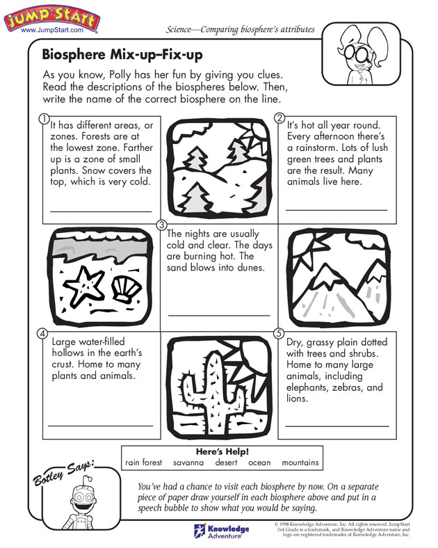 Worksheets On Biomes  2684556
