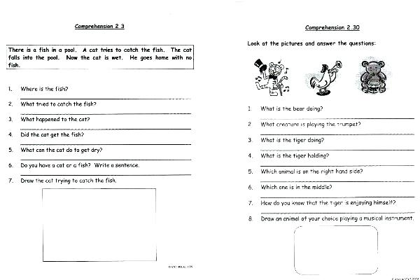 Year 9 Comprehension Worksheets Free Printable For Grade 7 Reading