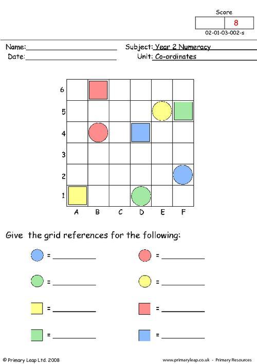 Coordinates (1)