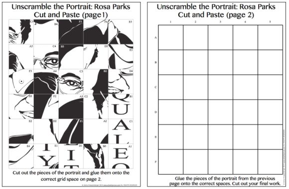 Pop Art Rosa Parks