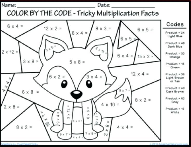 1st Grade Math Coloring Worksheets – Fptoptoytester Com