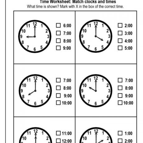 10+how To Tell Time Worksheets