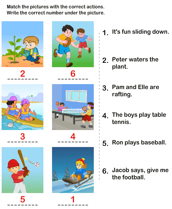 Printable Kids Learning Activity