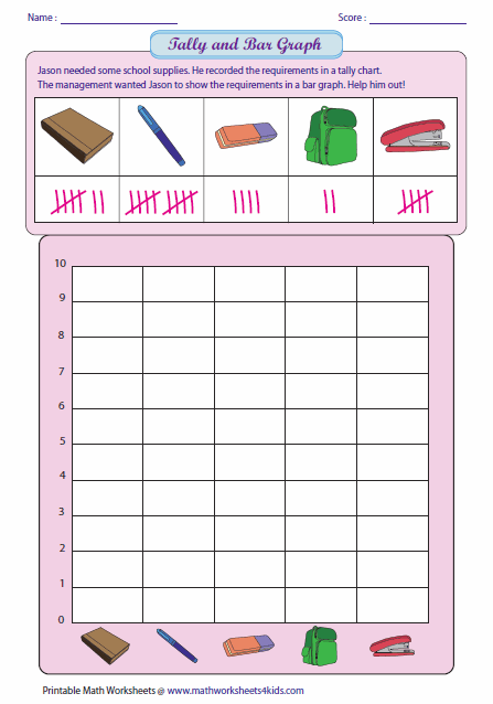 Reading Tally And Drawing Bar Graph