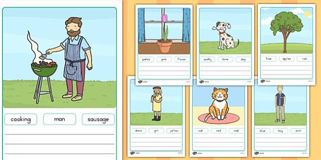 Simple Sentence Worksheets