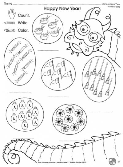 Brilliant Ideas Of Chinese New Year Worksheets For Kindergarten