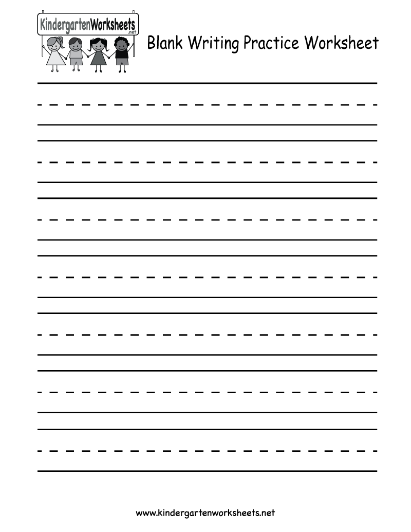Practice Sheets For Writing