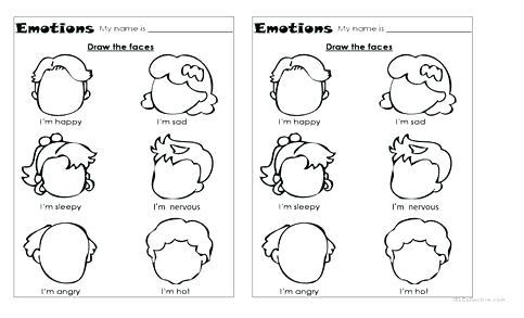 Emotions Printable Worksheets – Myprinters Info