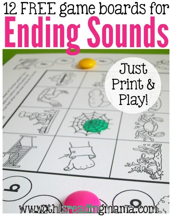 Ending Sounds Games