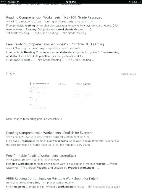 Esl Comprehension Worksheets Reading Comprehension Worksheets For