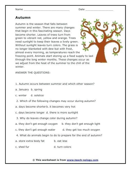 Esl Reading Worksheets – Nicebiowar Info