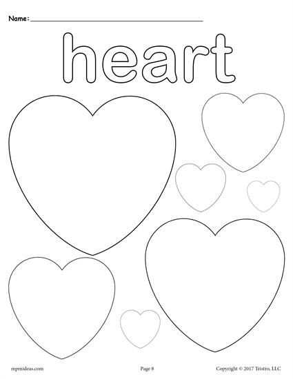 12 Shapes Coloring Pages