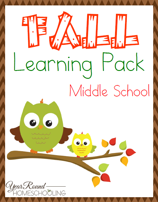 Free Fall Middle School Learning Pack