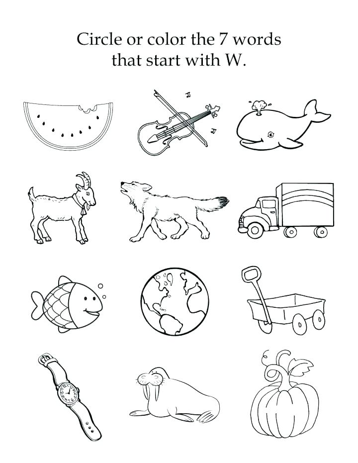 Final Consonant Sounds Worksheets Consonant Sounds Worksheets