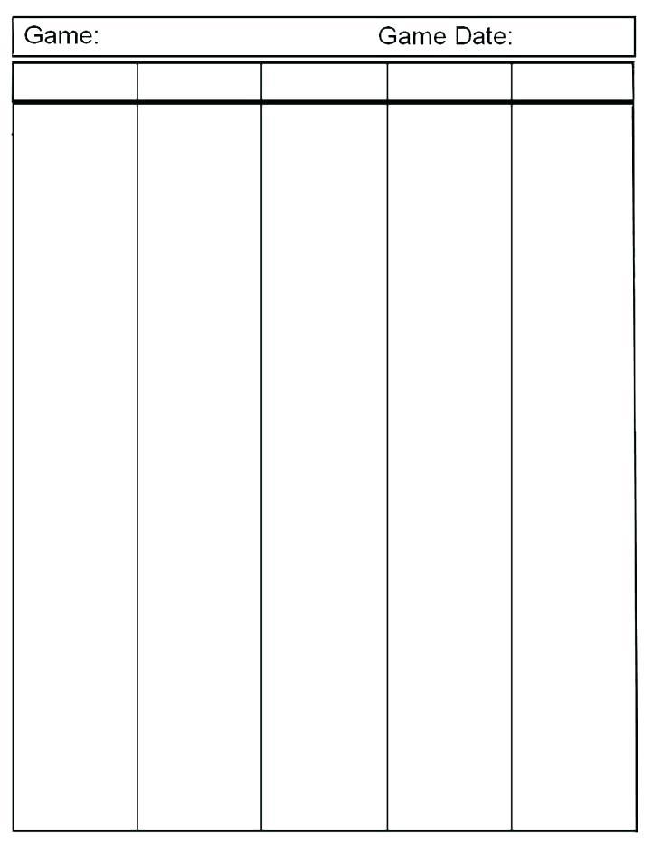 Free Blank Spreadsheet Template Fresh Templates Empty Monster
