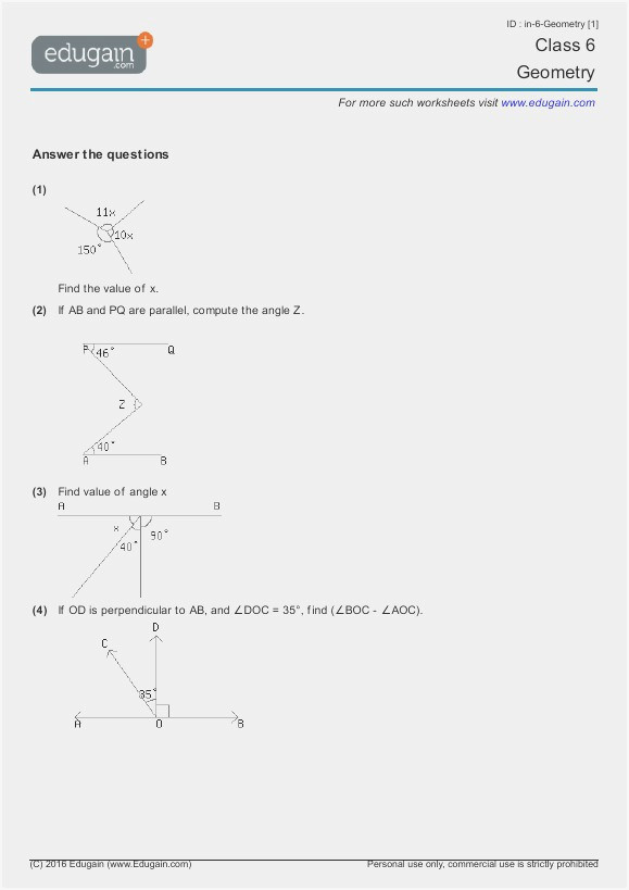 Draw The Mirror Image Transformation Worksheets Transformations