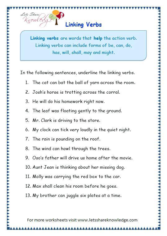 Verbs Worksheet Circling Helping Verbs Worksheet Advanced Main