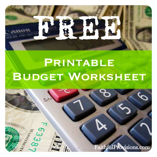 Household Budget Worksheet Dave Ramsey Worksheets For All