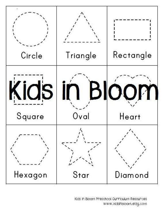 Hd Wallpapers Preschool Shape Tracing Worksheets Animated