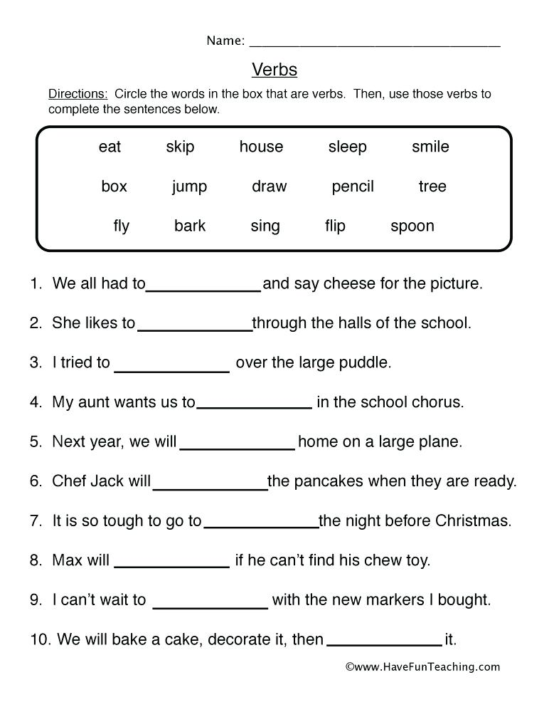 Irregular Verbs Worksheets For 3rd Grade 1 Inspirational Worksheet