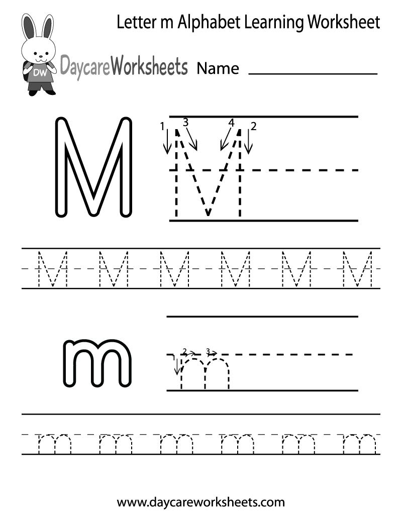 Letter M Preschool
