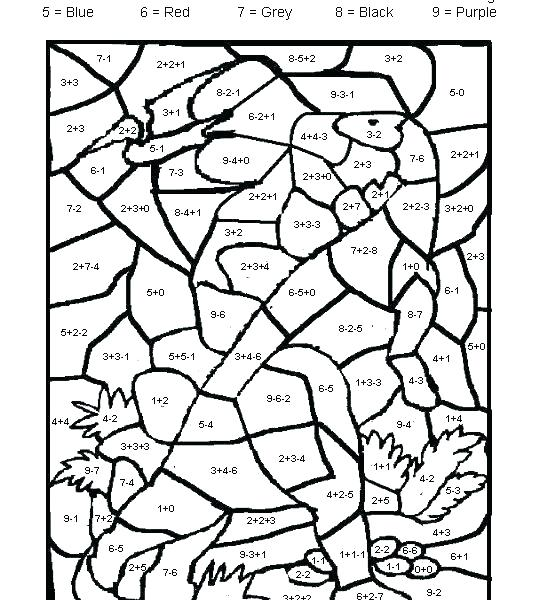 Math Coloring Pages Coloring Pages Turkey Math Coloring Pages