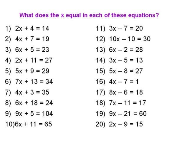 2 Step Algebra Equations Worksheets  Algebra  Alistairtheoptimist