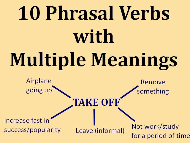 English Phrasal Verbs With Multiple Meanings – Espresso English