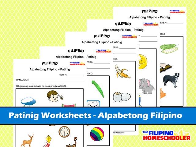 5 Free Patinig Worksheets (set 1) – The Filipino Homeschooler