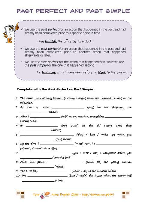 Pdf Grammar Worksheets Worksheets For All