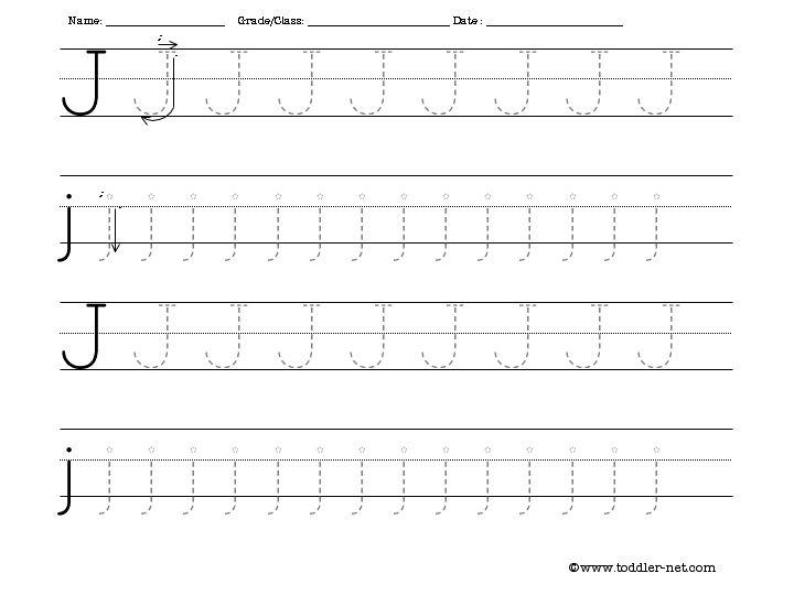 Printable Preschool Worksheets Letter J Worksheets For All