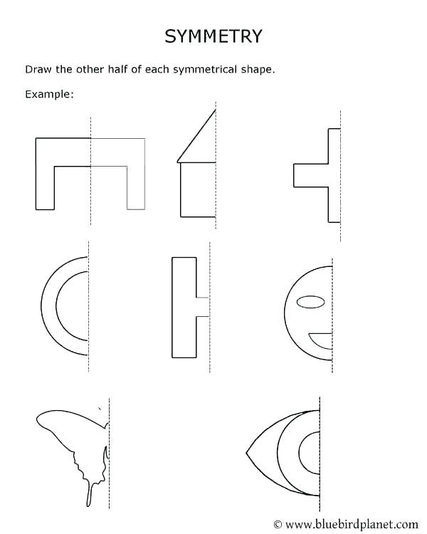 Symmetry Worksheets Grade Free Printable Rotational – Egyptcareers
