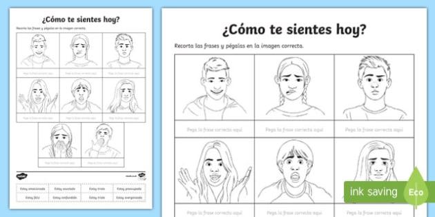 How Do You Feel Today Worksheet   Activity Sheet, Worksheet