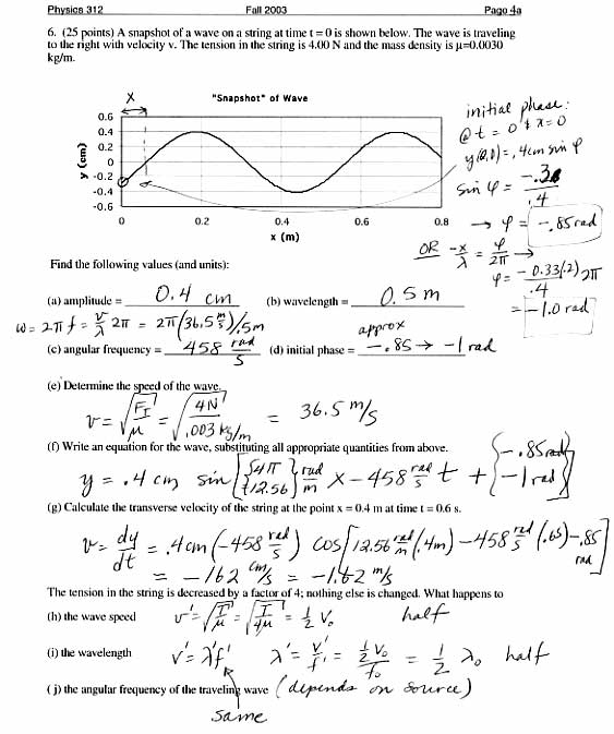 Worksheet Doppler Effect Answers