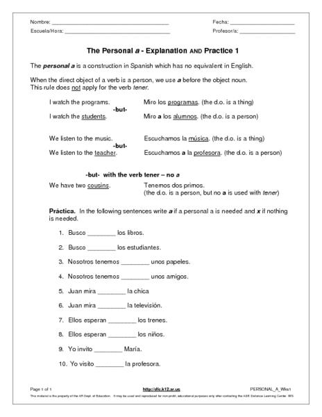 Demonstrative Pronouns Worksheets Printable K