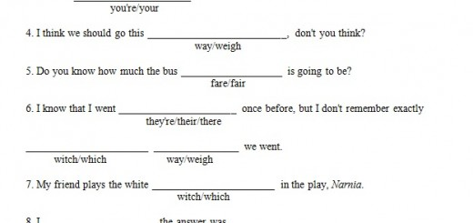 Free Grammar Worksheets They're Their There Archives