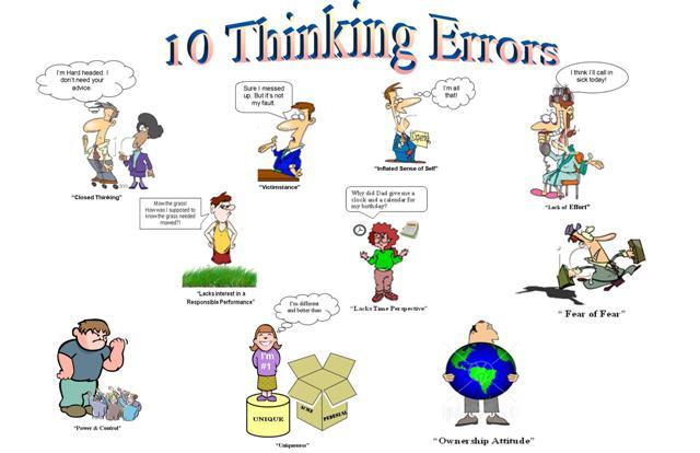 Thinking Errors