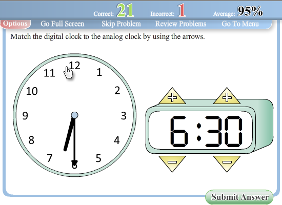 Interactive Worksheets