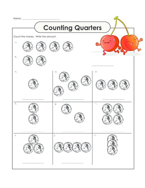 Touch Math Counting Money Worksheets Worksheets For All