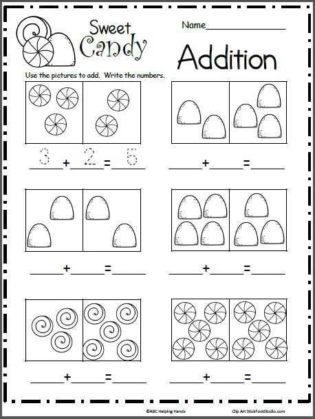 Writing Addition Number Sentences Worksheets 2nd Grade