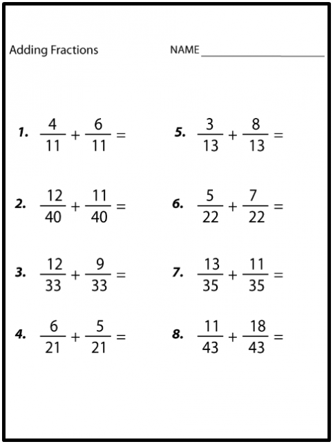 8th Grade Math Worksheets Printable Worksheets For All