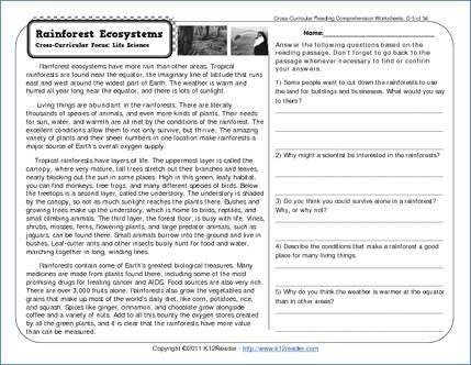 Reading Merit Badge Worksheet