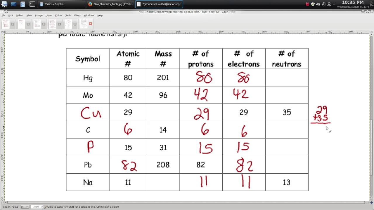 Worksheet For Atomic Structure Answers