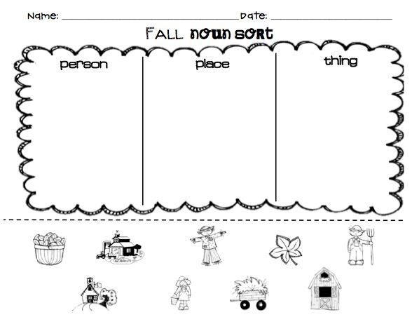 Best Solutions Of Noun Worksheet Kindergarten 12 Best Character