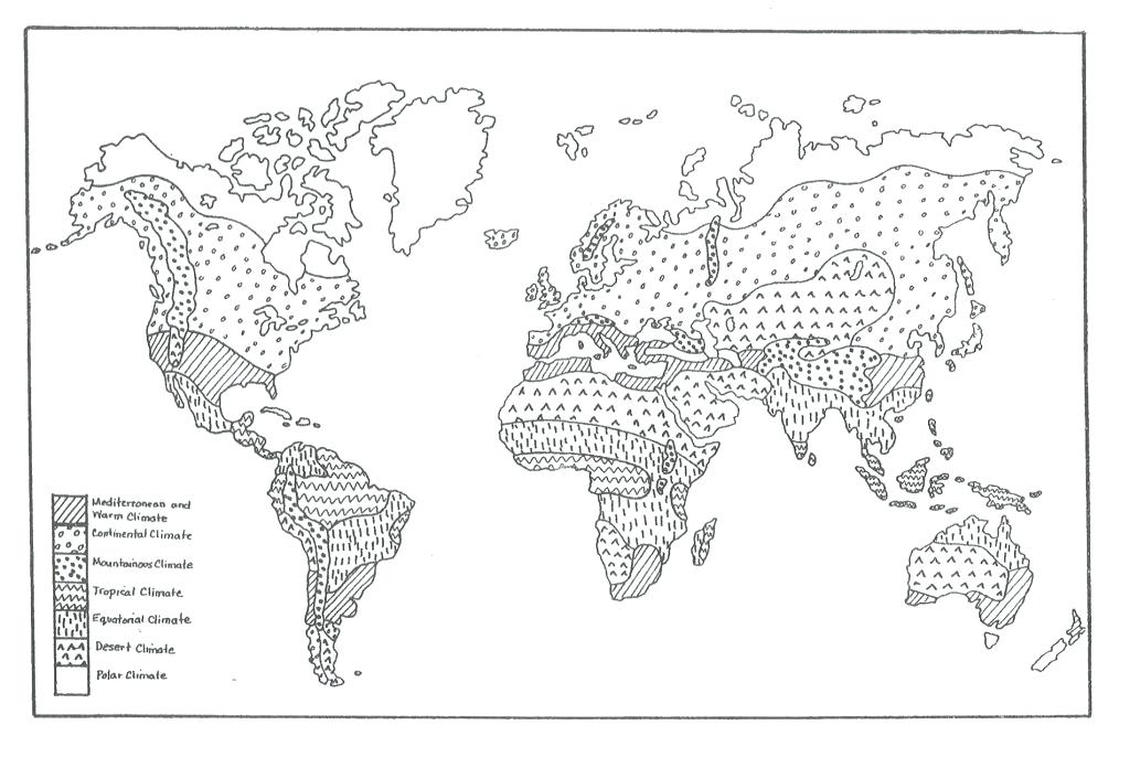 Blank Physical World Map Printable – Homefashion Club
