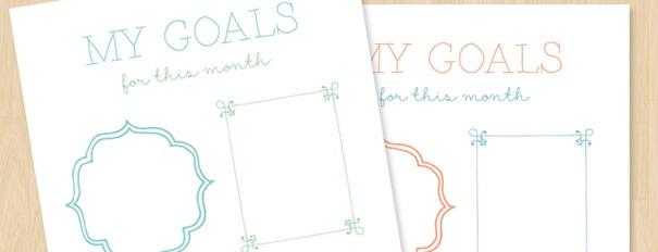 Goal Setting Worksheet (free Printable)